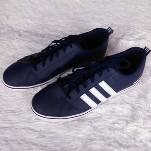 Adidas Drk Blue Low Top Athletic Sneaker - Size 12